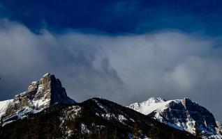 Montagnes de la gamme de chèvre photo