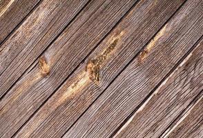 surface de planche de bois rustique photo