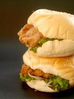 hamburger restauration rapide photo