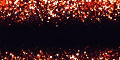 Effet bokeh réfléchissant paillettes et particules de poussière de texture de luxe, illustration 3d photo