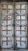porte en bois antique rustique antique. élément architectural. photo