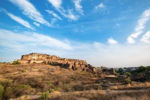 Fort Mehrangarh à Jodhpur, Rajasthan, Inde photo