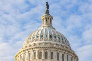 dôme du bâtiment du Capitole des États-Unis. Washington DC, États-Unis photo