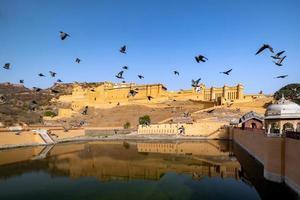 Amer Fort à Jaipur, Rajasthan, Inde photo