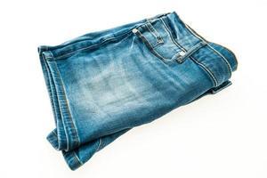 pantalon en jean court de mode pour les femmes photo