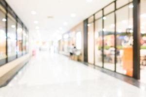 centre commercial flou abstrait photo