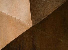 surface marron géométrique