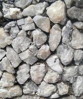 La colline de galets de cristal de quartz, texture d'arrière-plan