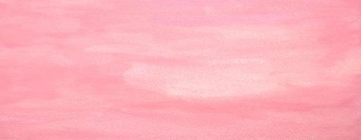tache peinte aquarelle pastel rose sur papier.