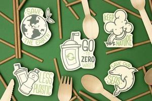 concept de recyclage écologique photo