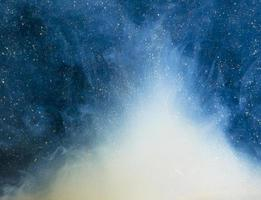 brouillard bleu abstrait avec des bits. résolution et belle photo de haute qualité