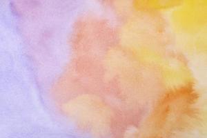 fond de peinture aquarelle colorée photo