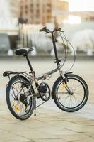 vélo écologique moderne à l'extérieur photo