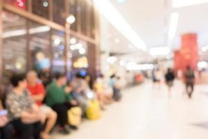 intérieur du centre commercial pour le fond photo