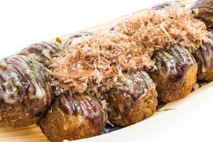 takoyaki balle nourriture japonaise photo