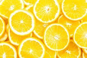 Texture et surface de fruits orange gros plan photo
