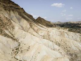 vue aérienne du paysage des montagnes photo