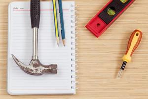 outils de menuisier pour le travail du bois photo