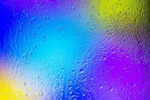 fond gouttes de pluie gros plan photo