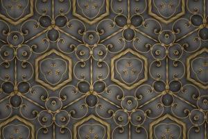 fond texturé abstrait doré, formes et lignes symétriques