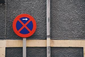 pas de feux de circulation dans la zone de stationnement