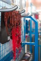 stand pour la fabrication de câblage électrique automobile photo
