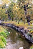 rivière qui traverse le comté photo