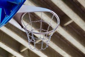 équipement sportif de basket-ball de rue photo