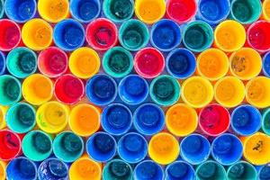 fond de textures de bouteille colorée photo
