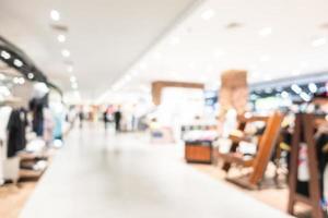 centre commercial abstrait défocalisé photo