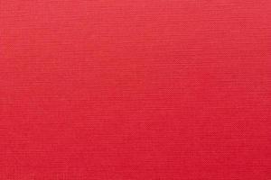 Plan plein cadre de la couverture du livre rouge vierge photo
