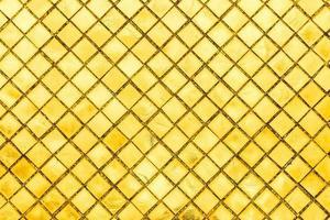 tuile de mosaïque d'or