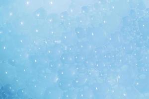 fond de texture de mousse bleue photo