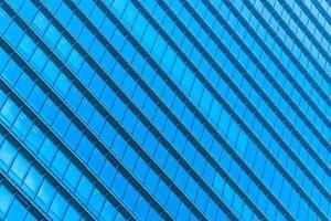 immeuble de bureaux avec motif de fenêtre photo