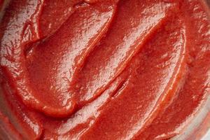 gros plan de sauce rouge photo
