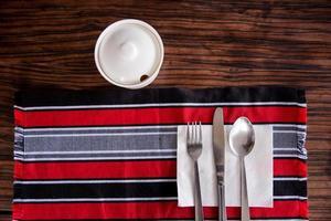 installation de table, baguio, philippines photo