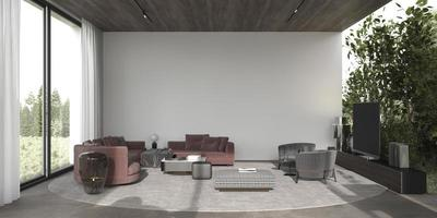 salon contemporain moderne photo