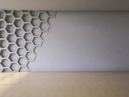 Intérieur de rendu 3D photo