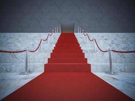 Tapis rouge 3D photo