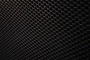 Texture de grille de haut-parleur en fer photo