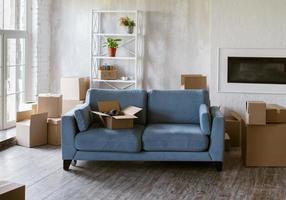 design d'intérieur de pièce pour nouvelle maison photo