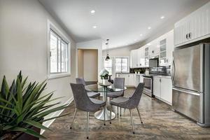 maison canadienne moderne de luxe après rénovation photo