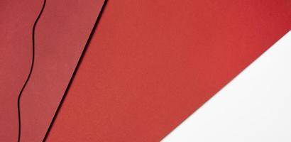 différentes nuances de papier rouge photo