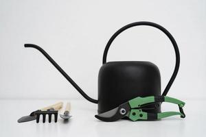 arrosoir et outils de jardin photo