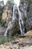 vue sur la cascade photo