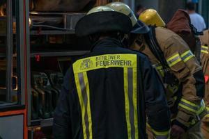 pompiers du service d'incendie berliner photo
