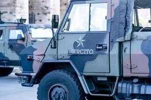 camion de l'armée italienne photo