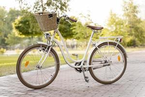 vélo écologique moderne. beau concept de photo de haute qualité et résolution
