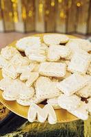 photos de biscuits au sucre en lettres