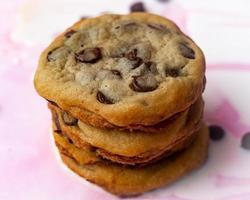 photos de cookies aux pépites de chocolat